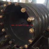 """Empilage du baril de faisceau de foret d'utilisation avec bit de cône du rouleau 12 1/4 """" IADC517"""