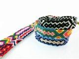 Corda de tecidos personalizados Dropshipping String Boho Hippy bracelete de algodão