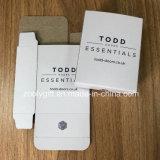 Pequeño tamaño de impresión de logotipo personalizado envases de cartón Caja de papel