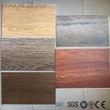 De PVC de vinyle de tuile de colle plancher arrière sec commercial de vinyle vers le bas