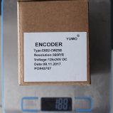 Codeur van de Schacht van Yumo E6b2-Cwz5b 360PPR 12V 24V gelijkstroom de Stijgende Roterende