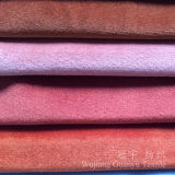 Velluto del poliestere del tessuto di lustro della tappezzeria per la casa
