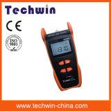 Метр источника лазера тестера Tw3109e оптического волокна Techwin