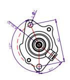Dio-5, Motorcyle를 위한 Starter Motor Assy를 위한 기관자전차 Starter