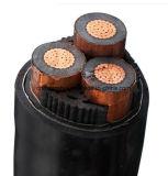 La moyenne tension isolation XLPE Armored Câble d'alimentation en cuivre
