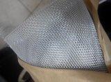 カに対する銀製の上塗を施してあるアルミ合金の金網