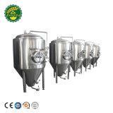 Mikrobrauerei-Systems-industrielles schlüsselfertiges Bierbrauen-Gerät der brauerei-1000L mit 1000L 2000L Bier pro Stapel