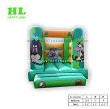 子供のためのジャングルのBoonceの主題の膨脹可能な跳躍の警備員