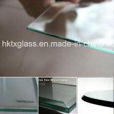 Bords polis de verre / verre biseauté