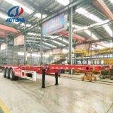 Aotong 상표 20FT/40FT 판매를 위한 해골 콘테이너 포좌 또는 콘테이너 트레일러