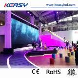 P4 Binnen Vaste Installatie die LEIDENE VideodieMuur adverteren door Keasy wordt gemaakt