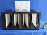 99,99% de filtro de ar HEPA de V-Cell para sala limpa