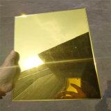 [5مّ] مرآة غنيّة ذهبيّة مع [فكتوري بريس]