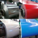 Il colore all'ingrosso della lamiera sottile di alta precisione ha ricoperto la bobina d'acciaio PPGI, bobina ricoperta colore, colora la lamiera rivestita con la pellicola di protezione