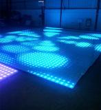 Vídeo interactivo caliente Dance Floor del disco LED de la venta