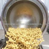 Grande chaleira de cozimento Tiltable do aço inoxidável com agitador/misturador
