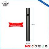 Batterij van de Sigaret van China van het Embleem van de Douane van de Functie 240mAh van het laag-voltage-alarm de Elektrische