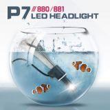 9005 bulbos dos globos do jogo da lâmpada da luz da cabeça do carro do diodo emissor de luz a Philips
