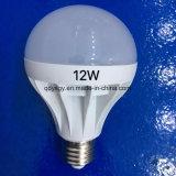 3W, 5W, 7W, lumière d'ampoule de 9W DEL avec la base E27