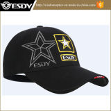 3 colores tácticos de deportes al aire libre gorra de béisbol militar de la PAC