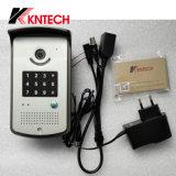 Дверной звонок телефона двери IP телефона Knzd-42 двери