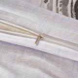 印刷された米国式のMicrofiberの羽毛布団カバー寝具のホーム織物