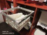 2015 de Nieuwe Garderobe van de Deur van de Kleur van het Ontwerp Witte Open (FY256)