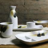 La glaçure de sésame main japonais de l'artisanat de la vaisselle de la vaisselle
