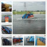 Lago hidráulico de boa qualidade colhedora de plantas daninhas para venda