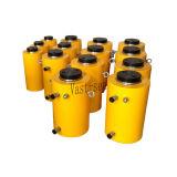 Cylindre hydraulique de tonnage tonnage élevé temporaire élevé de crics hydrauliques de double