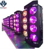 8 CREE Eye 10W LED RGBW Aranha do feixe de luz de efeito