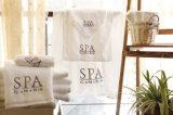Luxe Aangepaste Katoenen van het Borduurwerk Badhanddoek voor Hotel