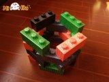 OEMの安い価格は柔らかいEPPの演劇の泡の建物のおもちゃのブロックをからかう