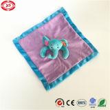 Blauer Elefant-purpurrote nette Geschenk-Baby-Badezimmer-Sorgfalt-Decke