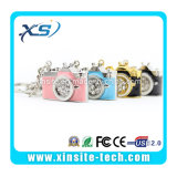 Camera多彩なShape Metal USB 4GB、Mini Jewelry Key Ring USB Drive (XST-U033)