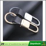 Couro relativo à promoção barato Keychain do presente