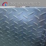 Q235B Xadrez Tamanhos de chapa de aço de carbono