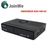 Receptor combinado Herobox Ex2 do decodificador de IPTV Turbo