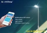 18W panel solar de alta calidad, el controlador LED de batería de la luz de la calle