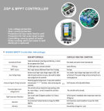 水ポンプのための最上質MPPT DCの太陽コントローラ