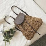 2017 nuovi zainhi delle donne dei sacchetti delle signore del Drawstring della paglia di modo