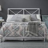 木製のスラット(OL17200)が付いている金属の完全なベッド