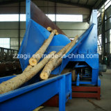 La fábrica de madera de suministro automático de registro de la máquina de descortezado Debarker Debarker árbol