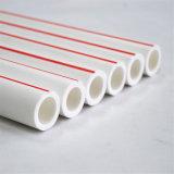 Tubo di plastica verde del rifornimento idrico di freddo della rete di tubazioni dei materiali del certificato PPR di iso PPR