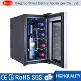 Non Noise Glass Door Semi-Conductor Wine Cooler Sans Compresseur