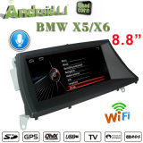 Android estereofónico 7.1 1+16GB de BMW X5 BMW X6 DVD Navigatior do carro de Carplay