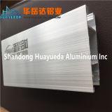 밀어남 미닫이 문/알루미늄 방책/슬라이딩 윈도우를 위한 알루미늄 단면도 가로장