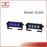 Gedankenstrich-Leuchte-Plattform-Warnlicht des Krankenwagen-blaue Weiß-LED (SL340)