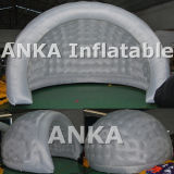 Inflables OEM Shell Carpa transparente con luz LED