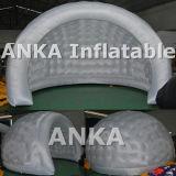 Tenda trasparente gonfiabile delle coperture dell'OEM con l'indicatore luminoso del LED